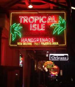 Just around the corner is Bourbon Street, one of the most fun streets in the United States.